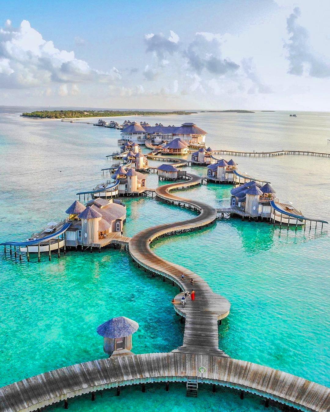 Soneva Fushi отель на Мальдивах с виллами на воде