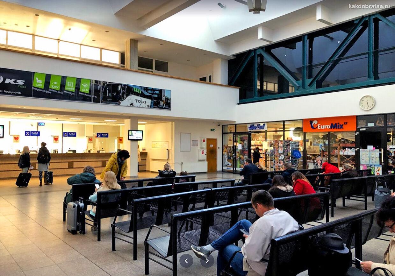 Автовокзал Вильнюс адрес и практическая информация