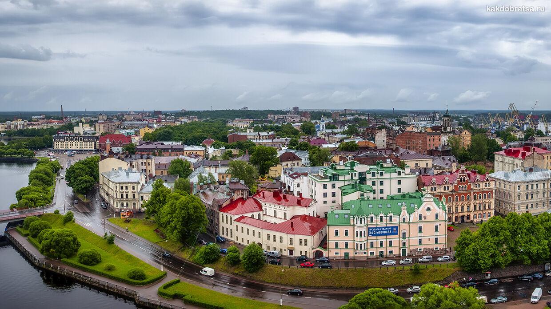 Как добраться из Санкт-Петербурга в Выборг