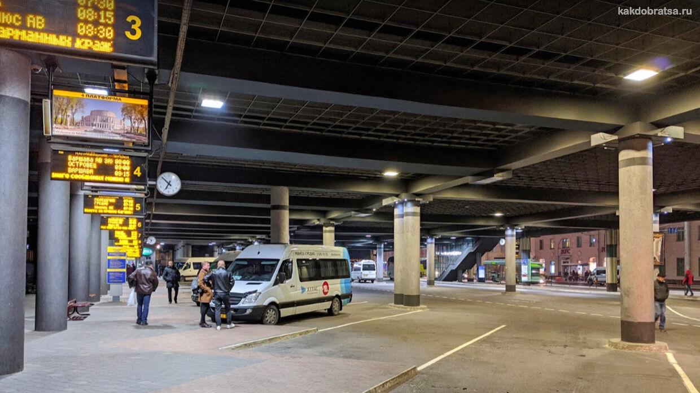 Центральный автовокзал в Минске