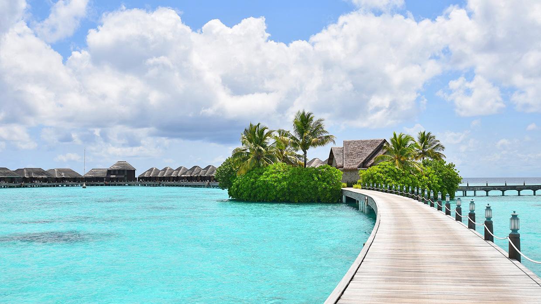 Где отдыхают звезды на Мальдивах