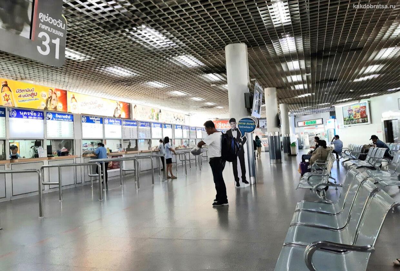 Северный автобусный терминал Чатучак в Бангкоке