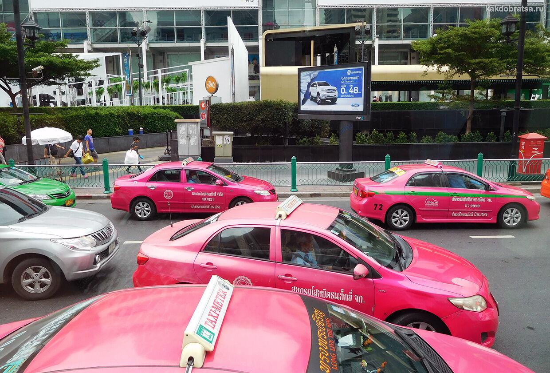 Бангкок такси трансфер из аэропорта