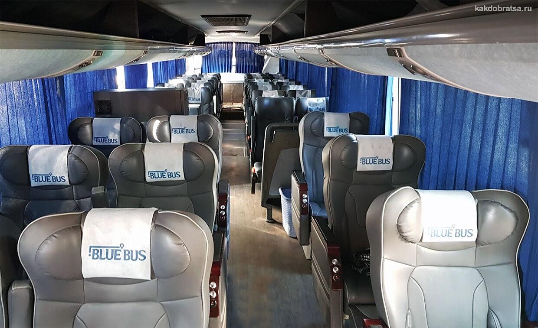 Автовокзал компании Blue Bus в Хургаде до Каира