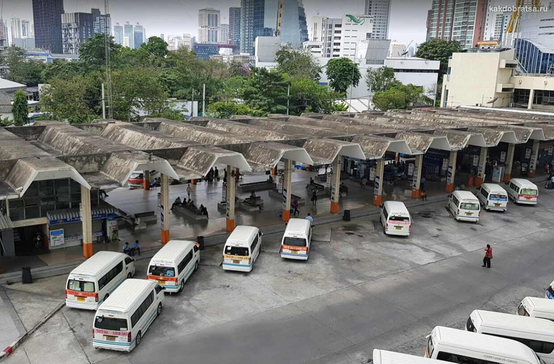 Эккамай автовокзал Бангкока