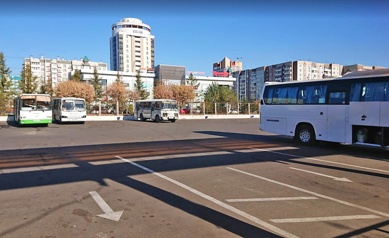 Автовокзал Красноярска междугородние автобусы