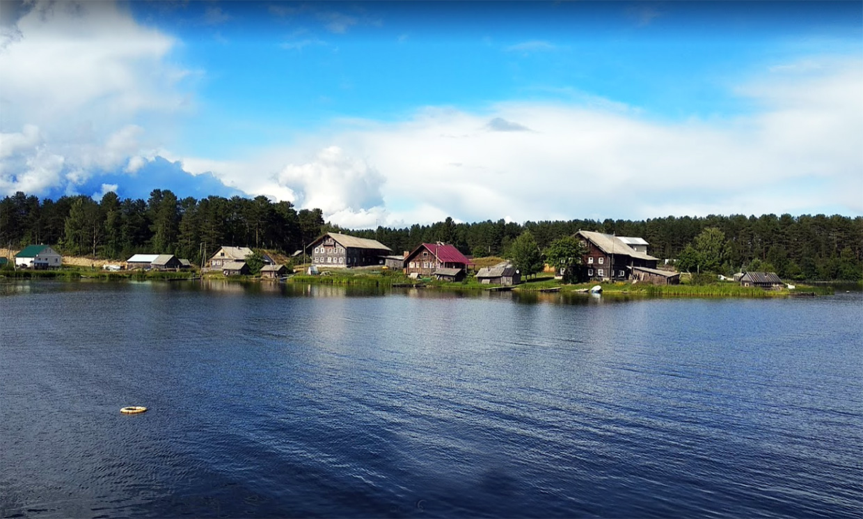 Деревня Сяргилахта самобытное место в Карелии