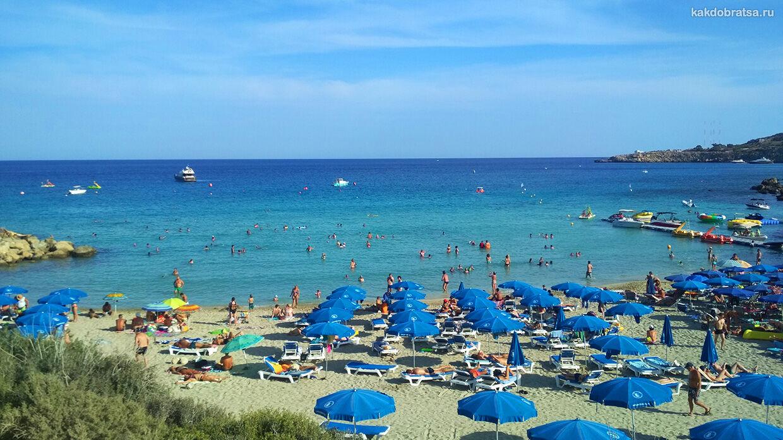 Пляж Коннос Бэй на Кипре как добраться