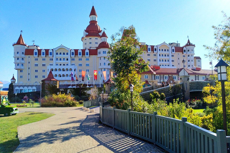 Гостиничный комплекс Богатырь в Сочи