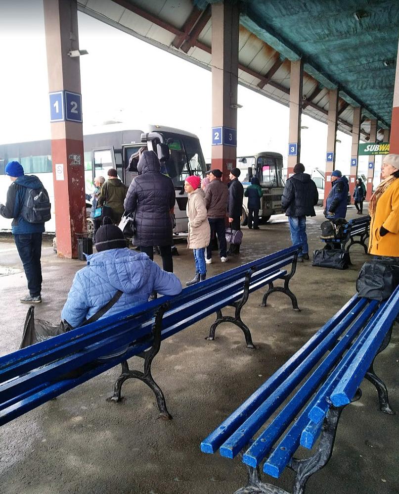 Автовокзал Челябинска Южные Ворота