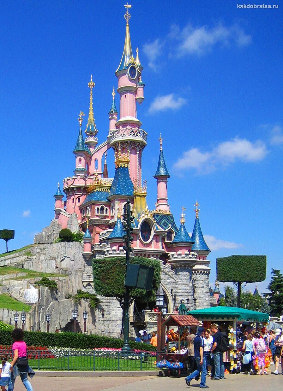 Экскурсия и входные билеты в Диснейленд Париж
