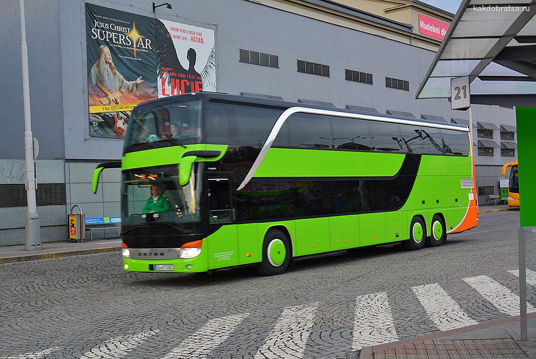 Междугородние автобусы в Европе