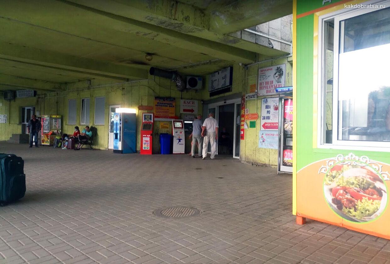 Львов международный автовокзал
