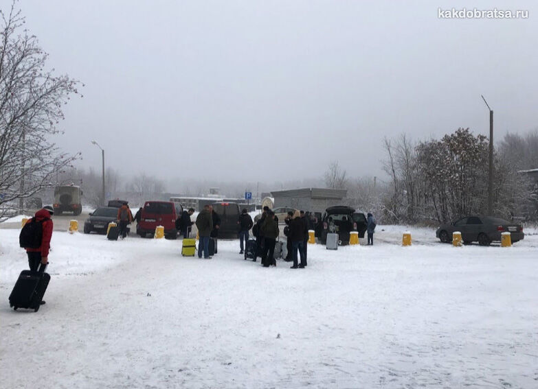 Автобус из центра в Аэропорт Мурманска