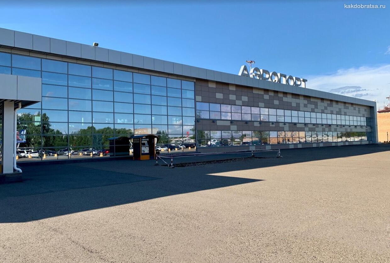 Аэропорт Нижнекамска транспорт до центра