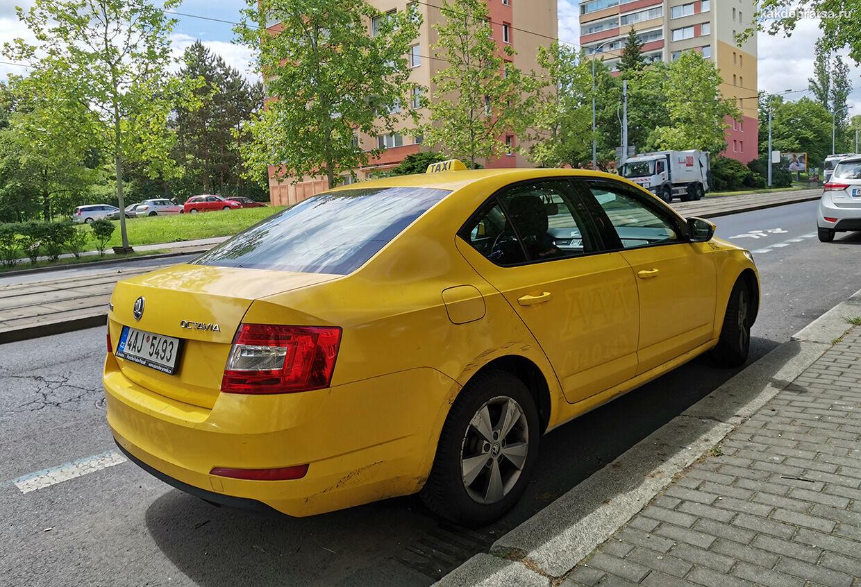 Такси в Праге как пользоваться и вызвать