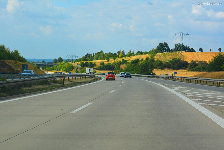 Путешествие на автомобиле в Европу