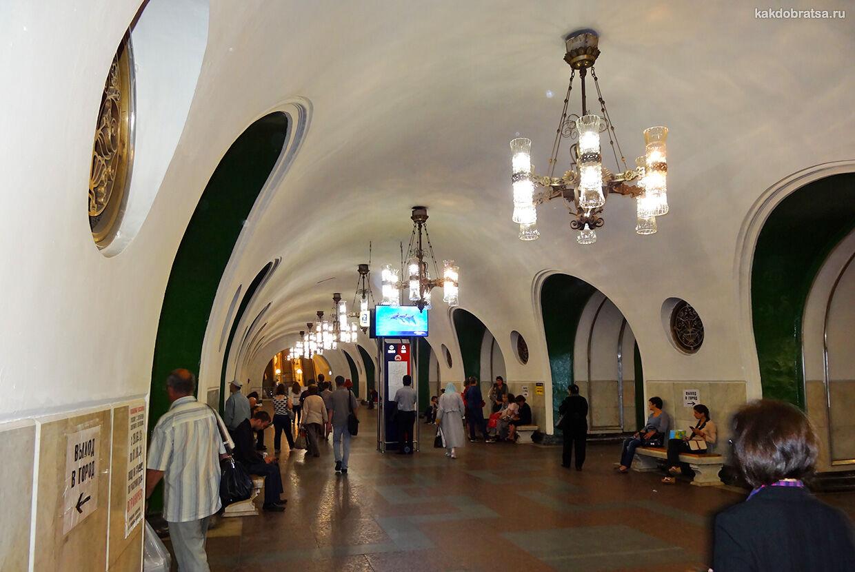 В Третьяковскую Галерею на метро