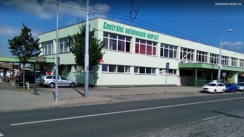 Пльзень центральный автовокзал