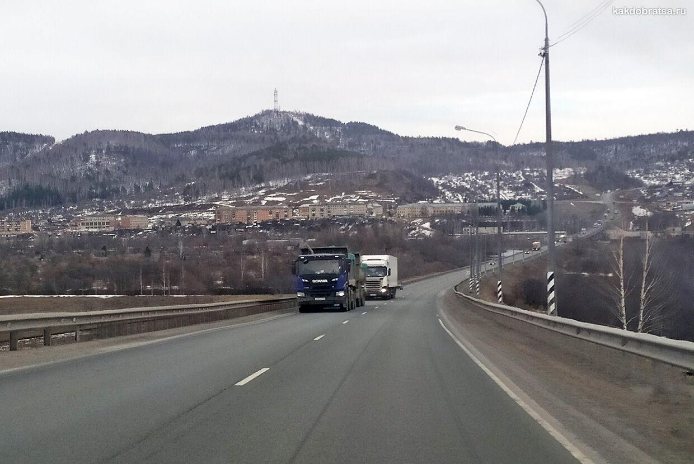 Автодорога М7 Волга из Уфы в Казань