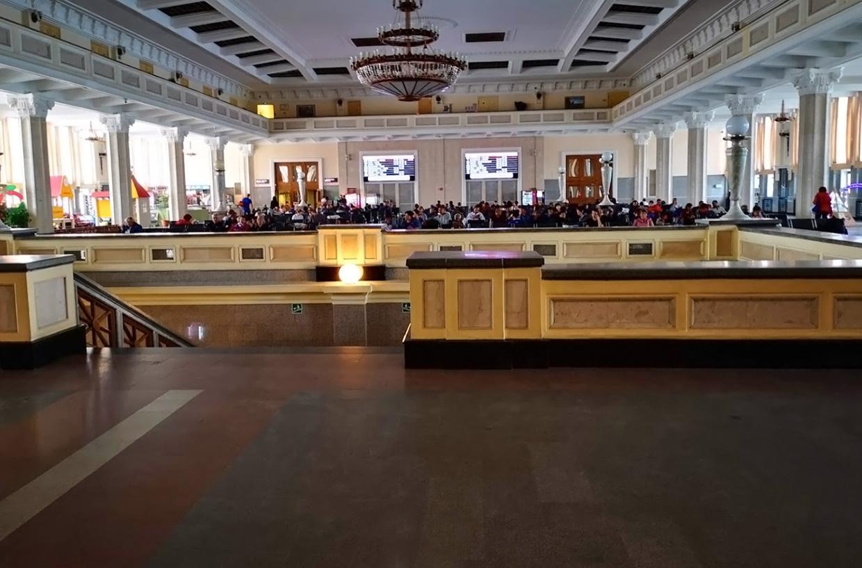 Новосибирск-Главный вокзал зал ожидания