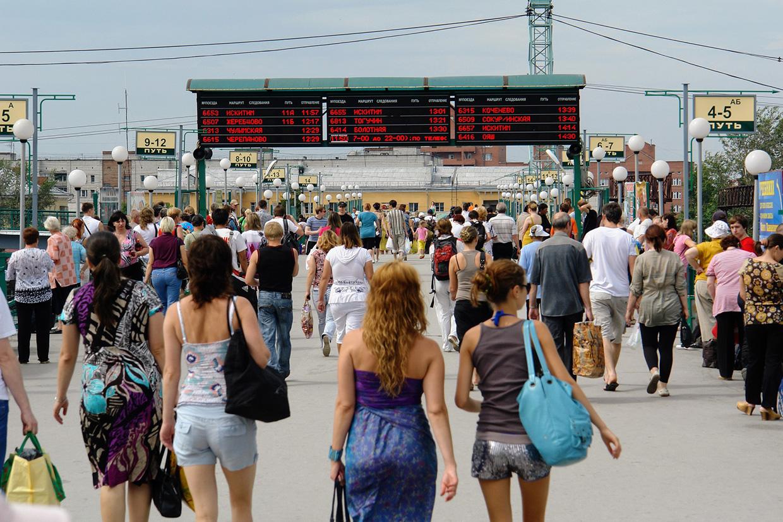 Новосибирск-Главный жд вокзал