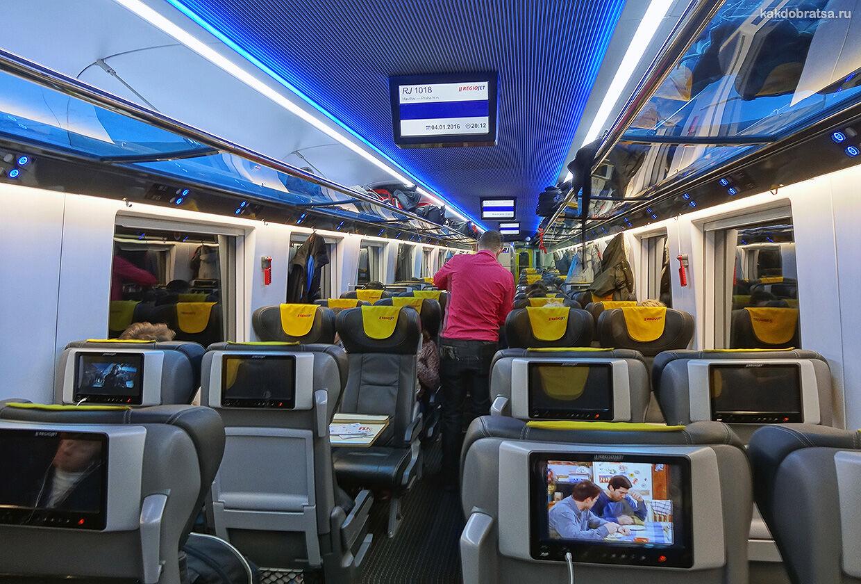 Поезд Прага Краков