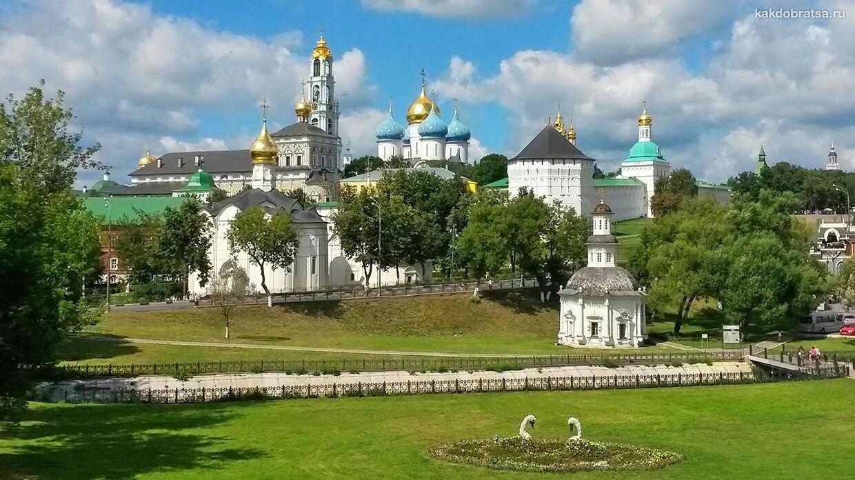 Как добраться из Москвы в Сергиев Посад