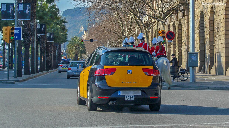 Такси в Барселоне как заказать, приложение и номер телефона