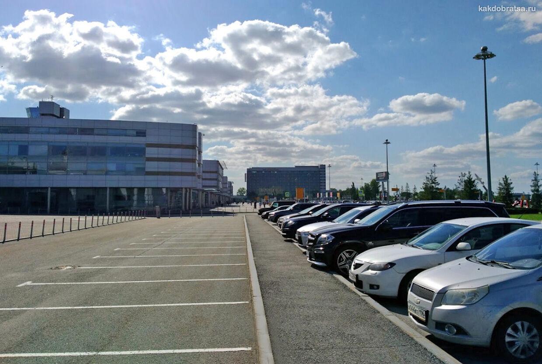 Аэропорт Екатеринбурга парковка и цены