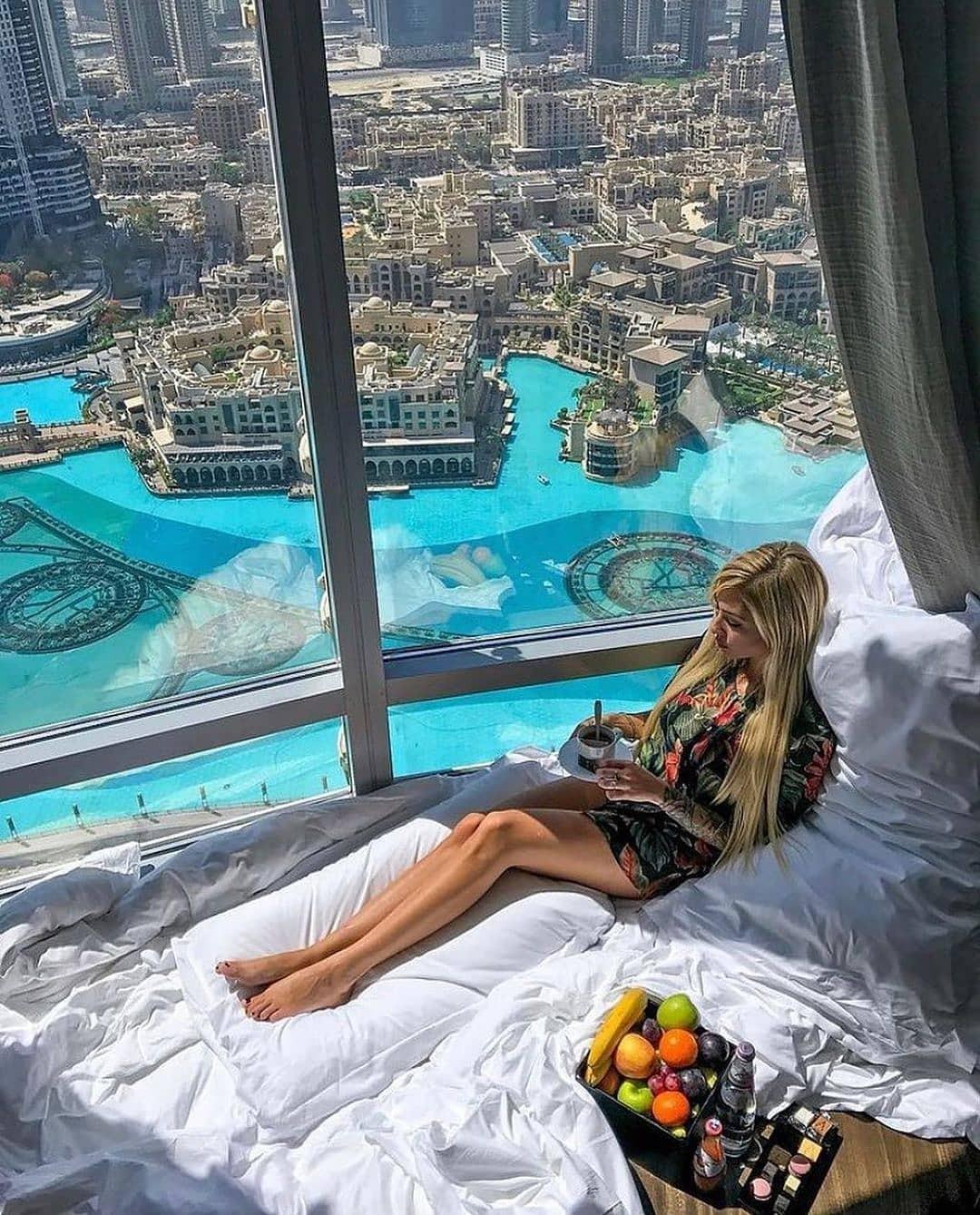 Отель Армани в Дубае с красивым видом