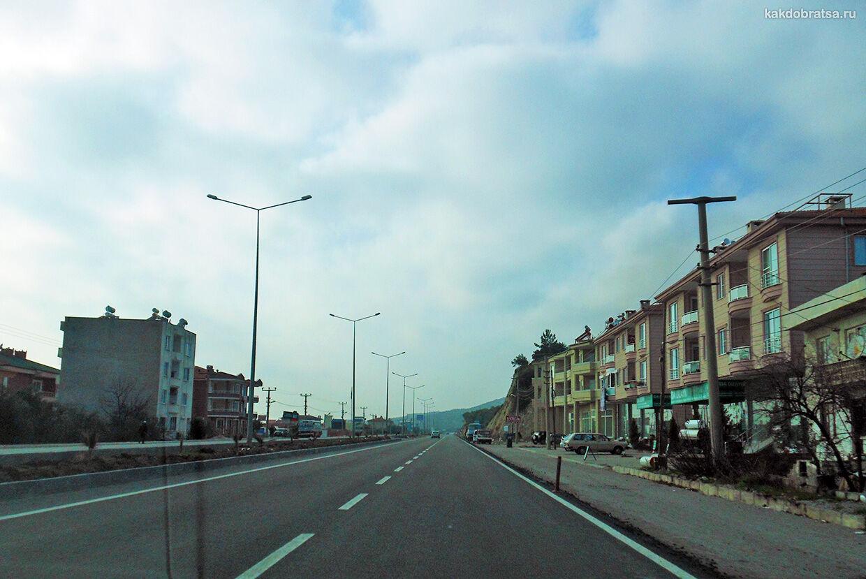 Из Стамбула в Мармарис на автомобиле