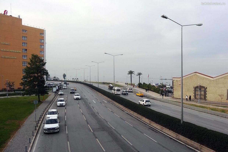 Как добраться из Мармариса в Измир на автомобиле