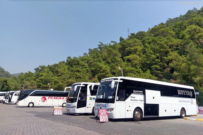 Автобус из Стамбула в Мармарис