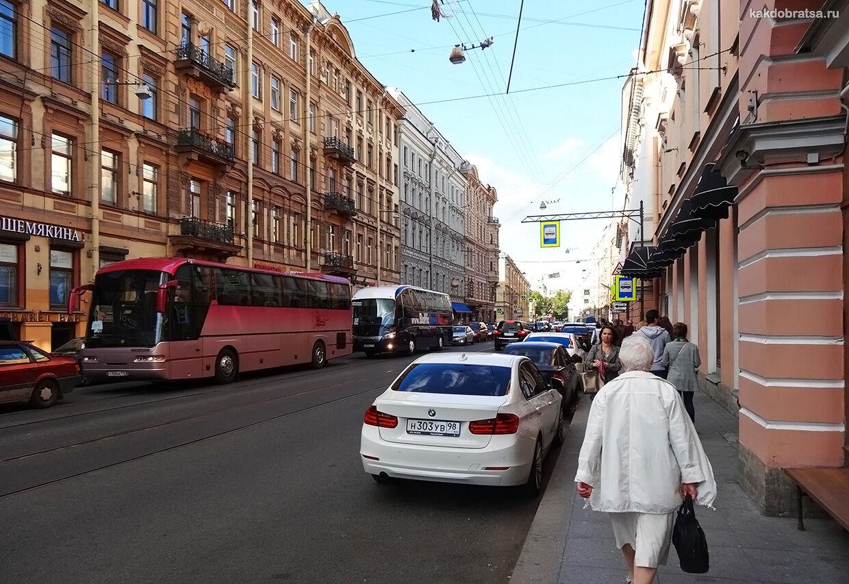 Как добраться в Русский музей на автомобиле и парковка рядом