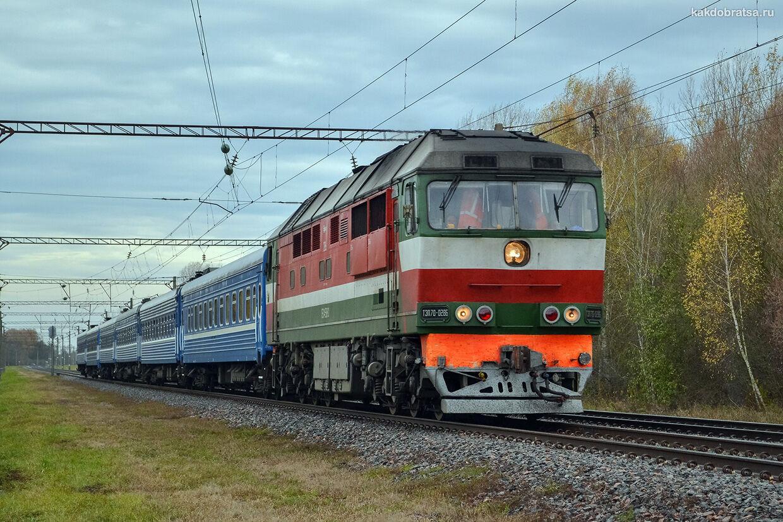 Поезд из Брянска в Крым