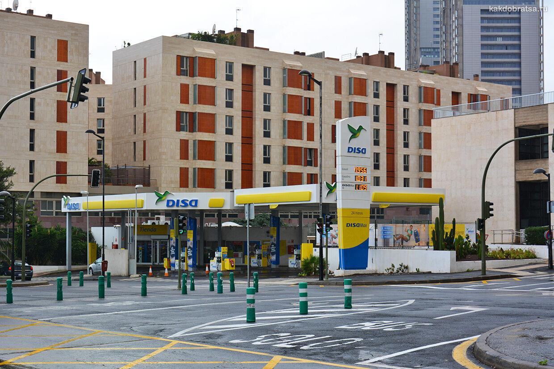 Заправка в Испании и цены на бензин и топливо