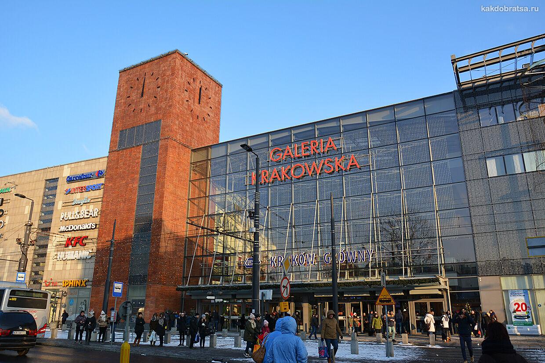 Главный автовокзал Кракова торговый центр и шопинг