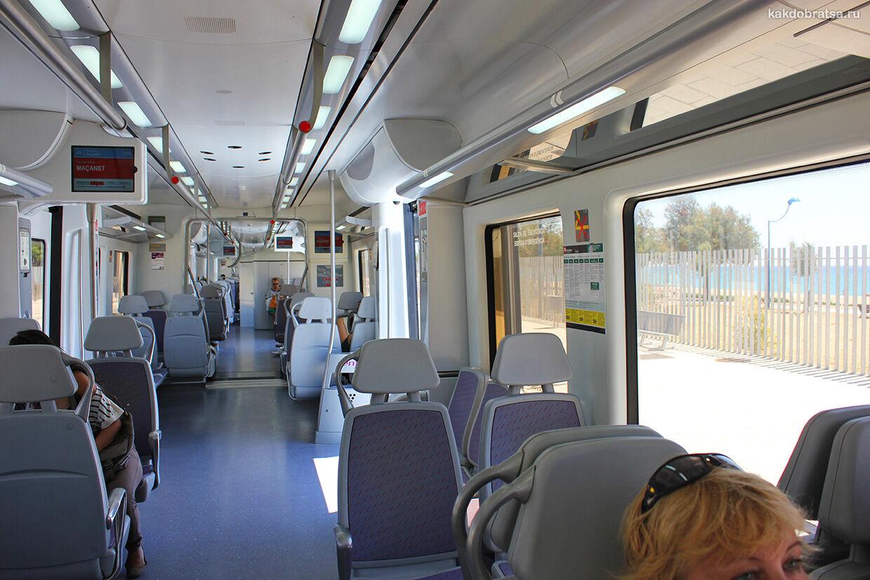 Порт Авентура поезд и электричка из Барселоны
