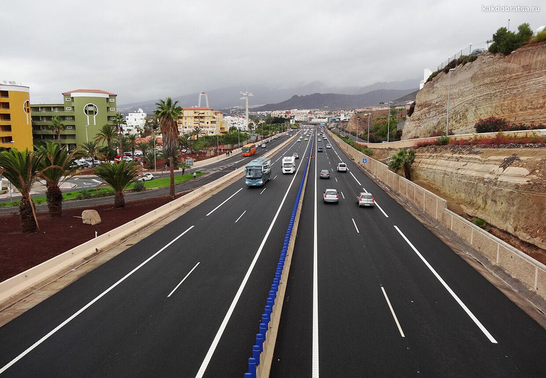 Дороги в Испании и правила дорожного движения