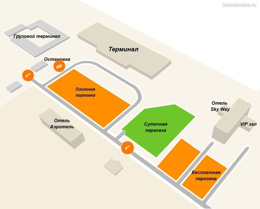 Аэропорт Томск карта схема