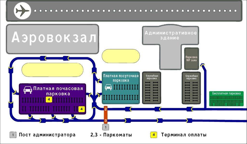 Аэропорт Томск карта схема парковка