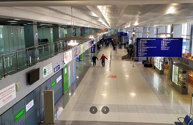 Аэропорт Томск Богашёво