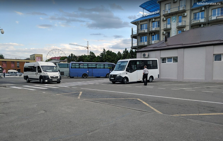 Анапа междугородние автобусы