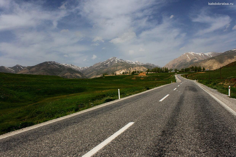 Автомобильная дорога из Анталии в Каппадокию