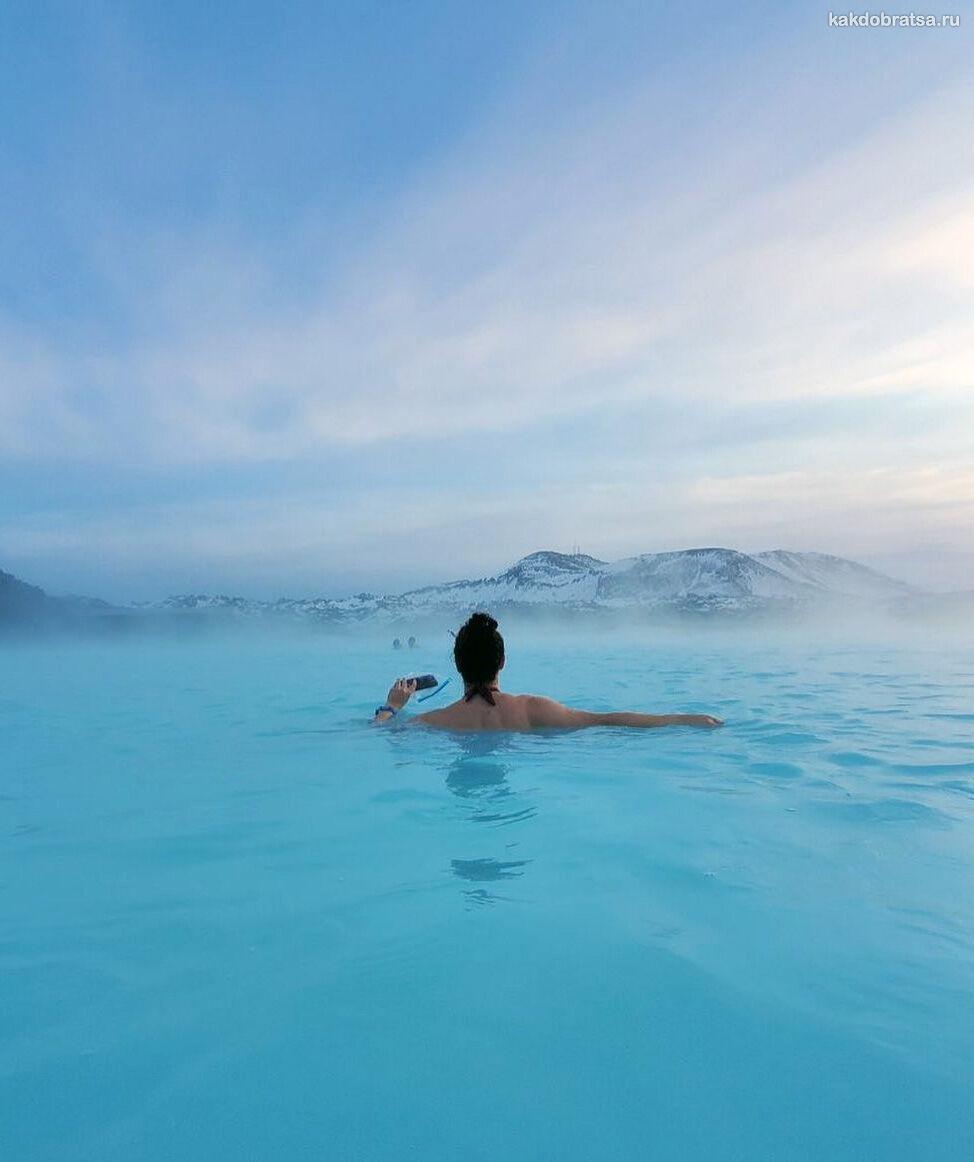 Отель в Голубой Лагуны в Исландии