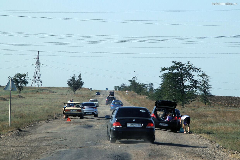 Качество дорог в Крыму