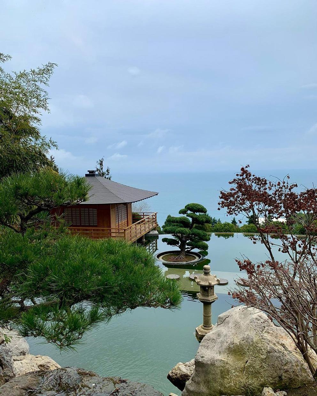 Японский сад в Крыму