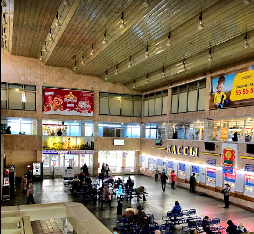 Главный Автовокзал Липецка