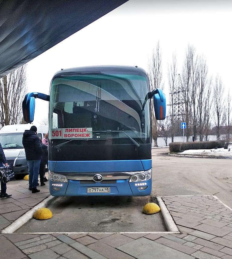 Липецк автобус межгород